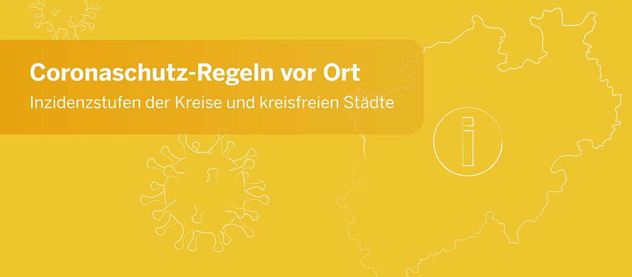 Mehr erfahren über die Inzidenzstufen in Nordrhein-Westfalen