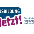 """Grafik zeigt Logo """"Ausbildung jetzt!"""""""