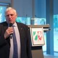 Foto zeigt Minister Karl-Josef Laumann vor dem Rednerpult