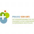 Logo zum Aktionsprogramm Praxis vor Ort