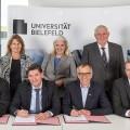 Die Unterzeichnung des Kooperationsvertrags