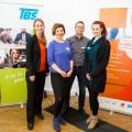 Foto: Katja Köhler, Bilyana Ignatova, Christian Menz und Nadine Schöpper von der Technologieberatungsstelle (TBS NRW)