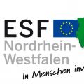 Logo: ESF in Nordrhein-Westfalen