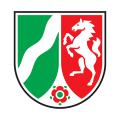 Abbildung zeigt NRW Landeswappen