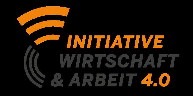 Logo: Initiative und Arbeit 4.0
