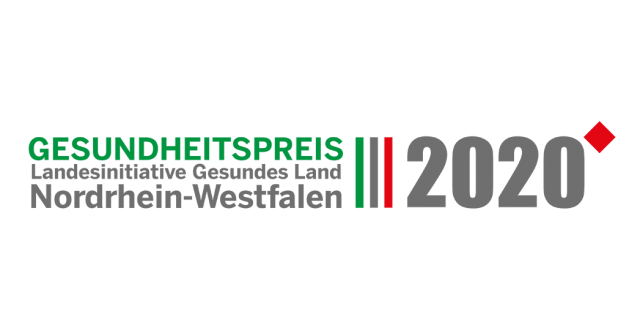 Logo: Gesundheitspreis NRW 2020