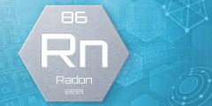 Grafik: Chemisches Element des Periodensystems - Radon