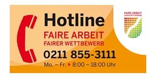 Foto: Telefonhotline Faire Arbeit