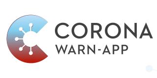 Grafik zeigt Hinweis auf Corona Warn-App