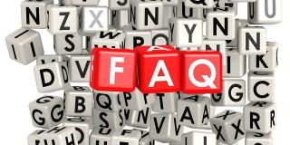 Banner zur FAQ-Seite