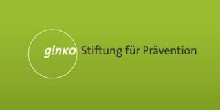 Logo ginko Stiftung für Prävention