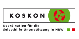 Logo Koskon – Koordination für Selbsthilfe in Nordrhein-Westfalen