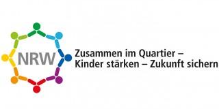 Logo: NRW Zusammen im Quartier