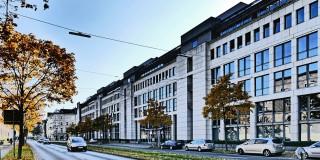 Ansicht des Ministeriums für Arbeit, Gesundheit und Soziales am Düsseldorfer Fürstenwall