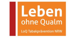 Logo: Leben ohne Qualm