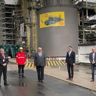 Wartung einer Raffinerie