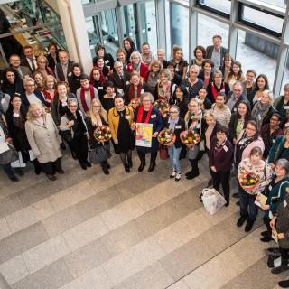 Gruppenfoto der Teilnehmenden