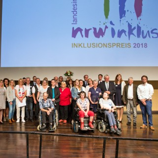 Foto: Preisverleihung Inklusionspreis 2018