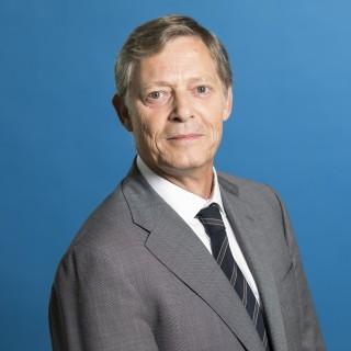 Staatssekretär Dr. Edmund Heller Porträt