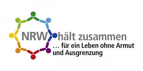 Logo: NRW hält zusammen