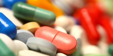 Tabletten in vielen Formen und Farben
