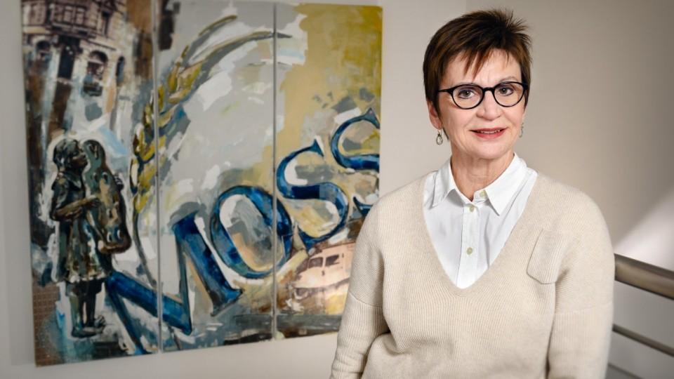 Foto zeigt Silvia Moss, Inhaberin der Handwerksbäckerei Moss