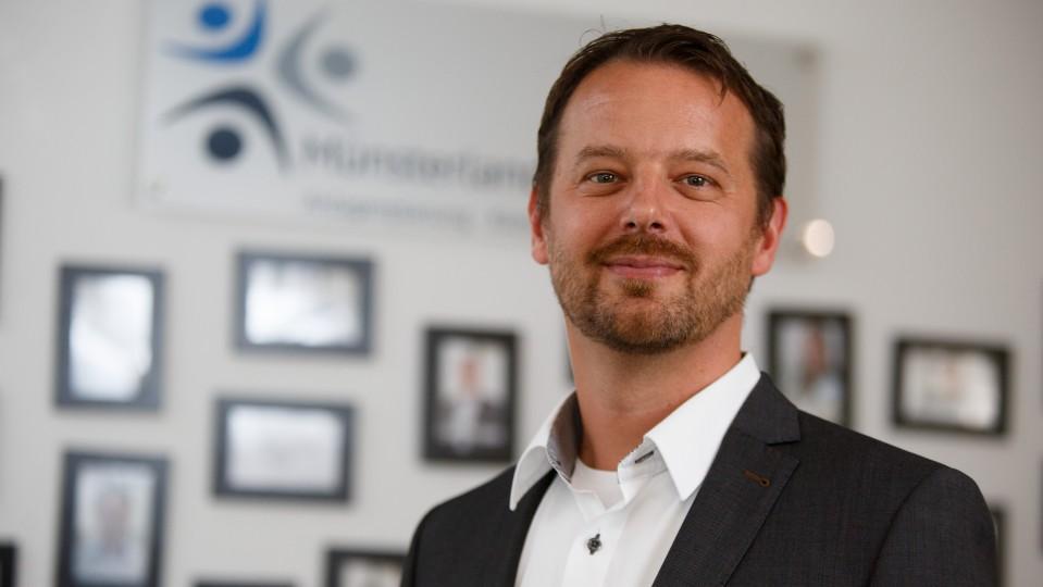 Foto: Lars Möllenhoff, geschäftsführender Gesellschafter Münsterland Engineering GmbH.