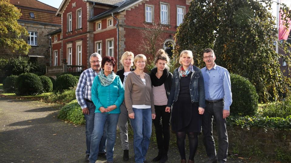 Foto: Gruppenfoto Arbeitslosenzentrum Ibbenbüren