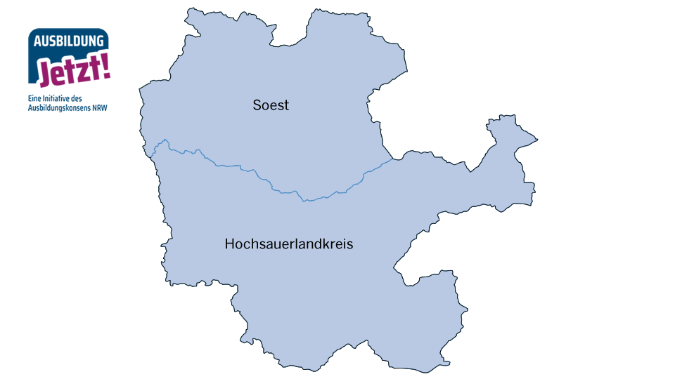 Karte Hellweg-Hochsauerland