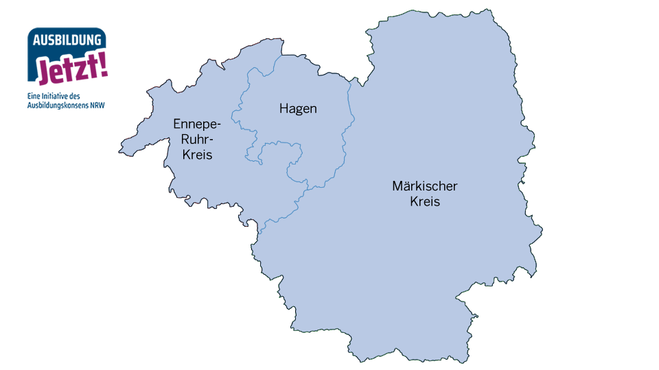 Karte Märkische Region
