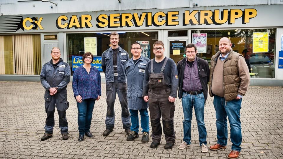 Foto: Team von Car Service Krupp in Oberhausen