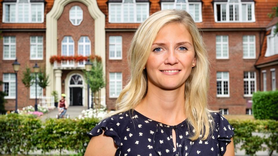 """Foto: Verena Heistermann arbeitet als sozialpädagogische Begleiterin und Coach im Projekt """"Chance Zukunft""""."""