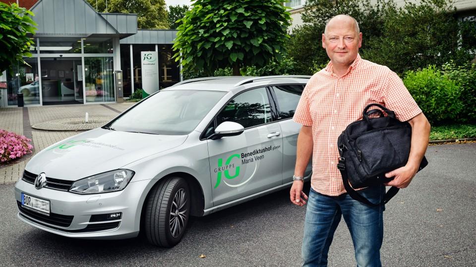 Foto: Projektmitarbeiter und Coach Berthold Nienhaus
