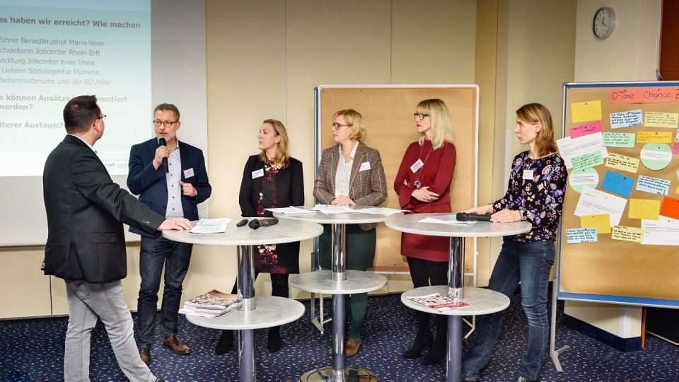 Foto: Podiumsgespräch