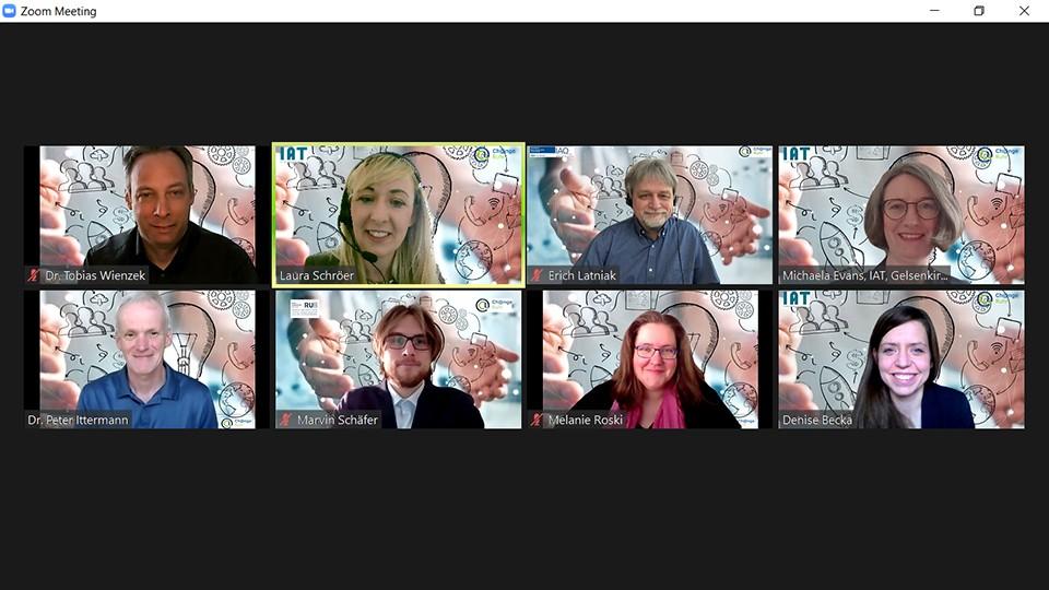 Screenshot: Gruppenfoto