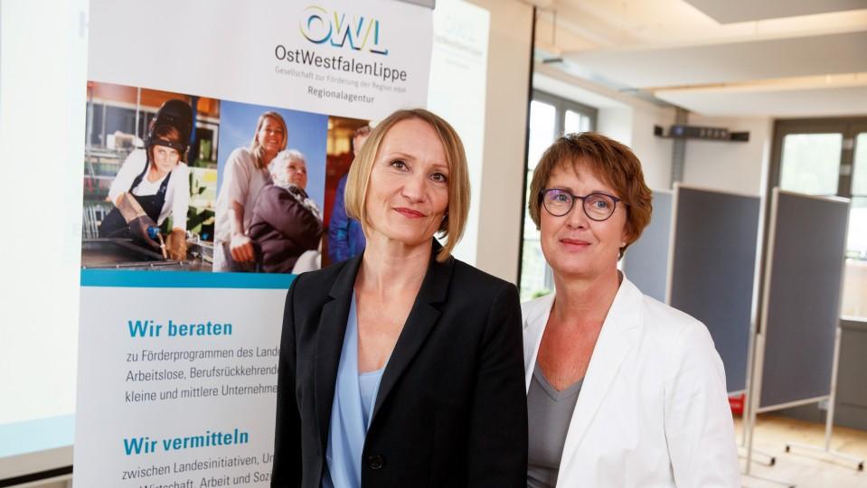 Foto: Martina Möhring und Melanie Taube, Regionalagentur OWL, OstwestfalenLippe GmbH