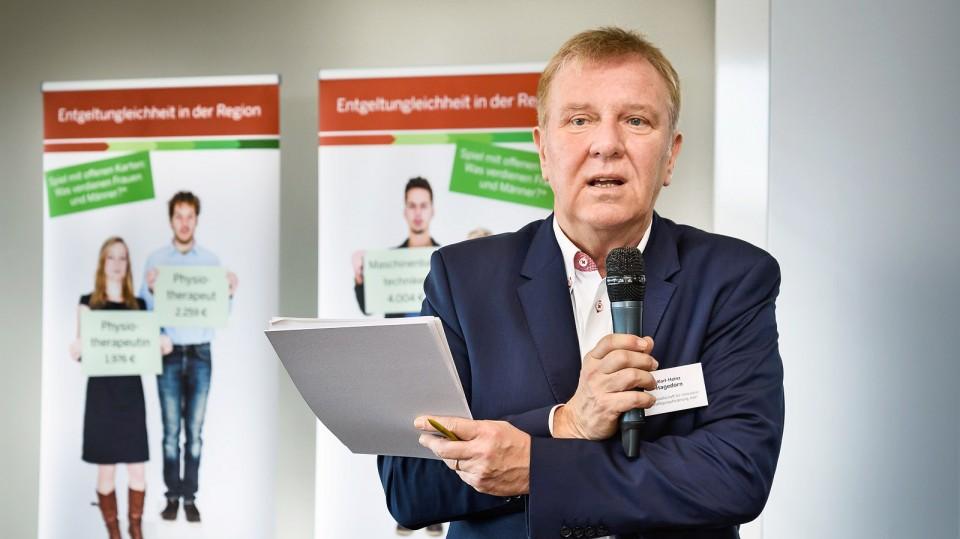 Foto: Karl-Heinz Hagedorn, Geschäftsführer der Gesellschaft für innovative Beschäftigungsförderung (G.I.B.)