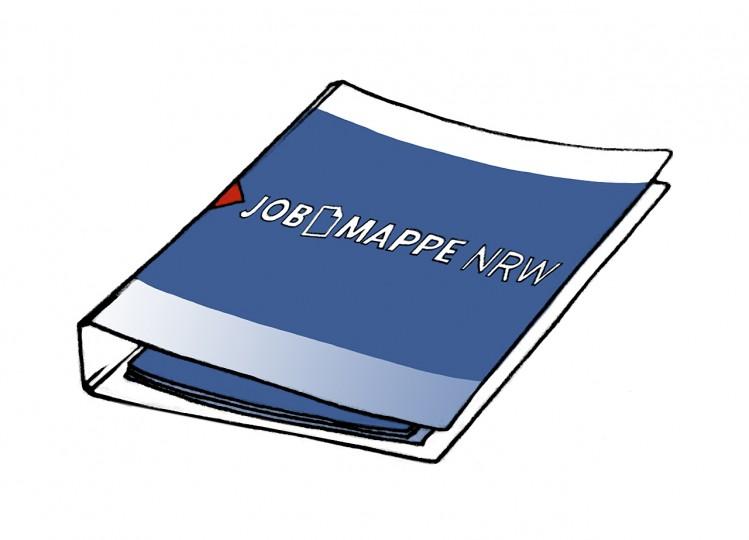 Grafik: Jobmappe NRW