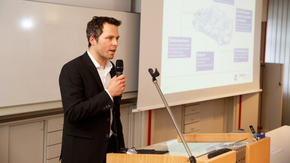 Foto: Dr.-Ing. Johannes Triebs, Chair of Production Engineering of E-Mobility Components (PEM) der RWTH Aachen