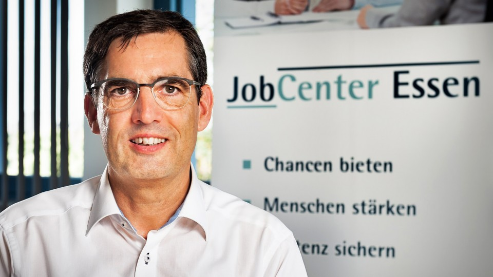 Foto: Dietmar Gutschmidt, Leiter des Jobcenters Essen