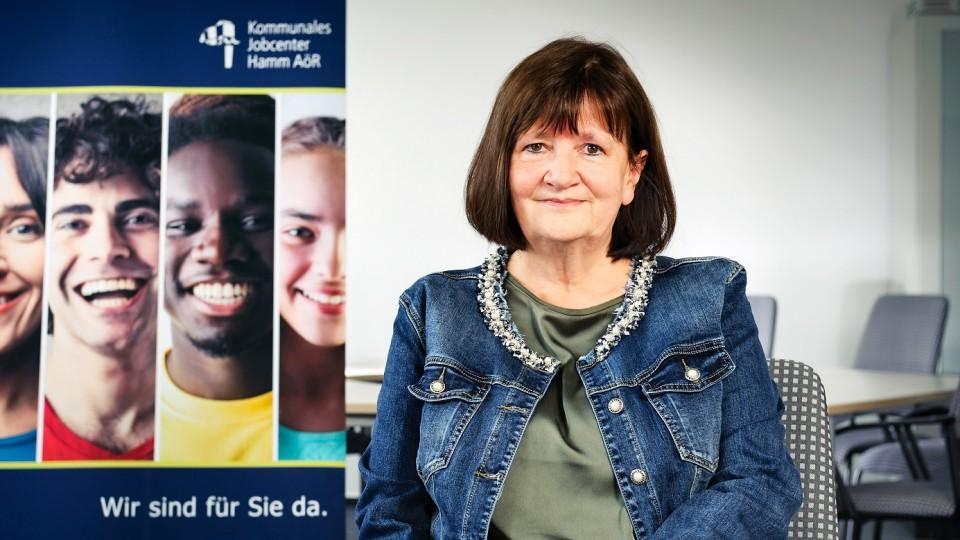 Foto: Marie-Luise Roberg, Geschäftsführender Vorstand des Jobcenters Hamm