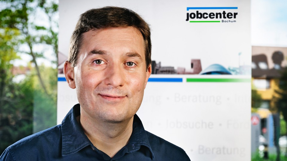 Foto: Andreas Schnieber, Fallmanager im Jobcenter Bochum