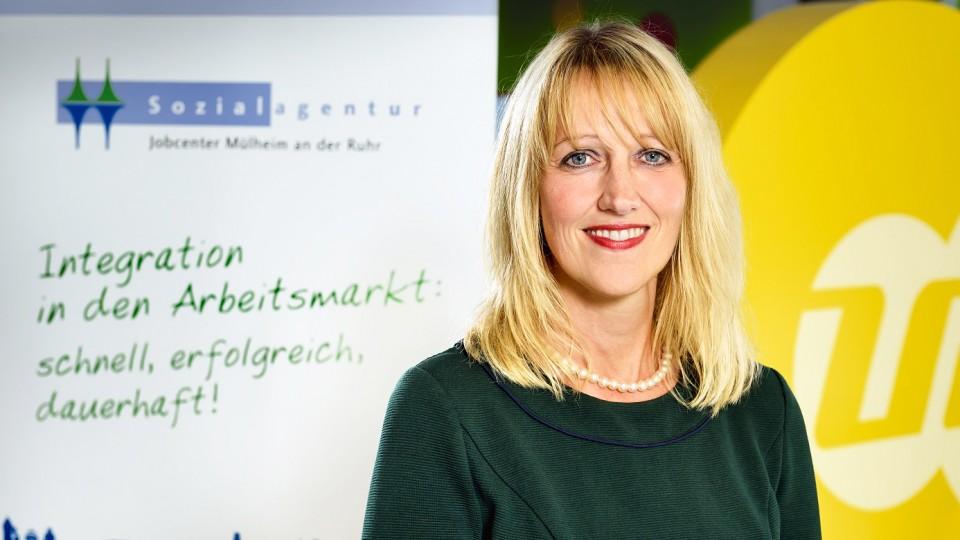 Foto: Anke Schürmann-Rupp, Sozialagentur (Jobcenter zkT) Mülheim an der Ruhr