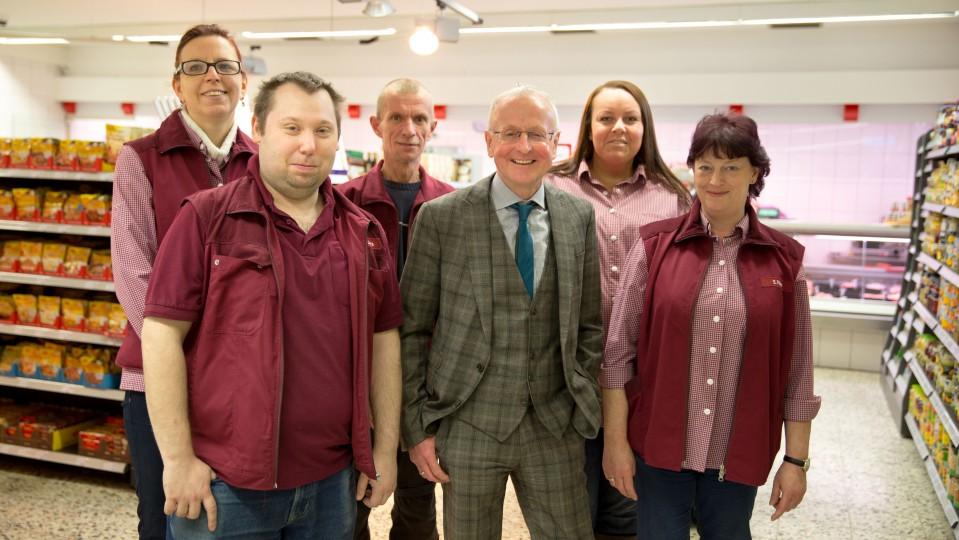 Foto: Team vom Lebensmittelmarkt Heßler