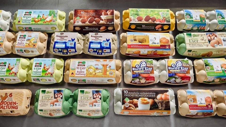 Produkte der OWi-Ei Erzeugergemeinschaft Hof Determeyer