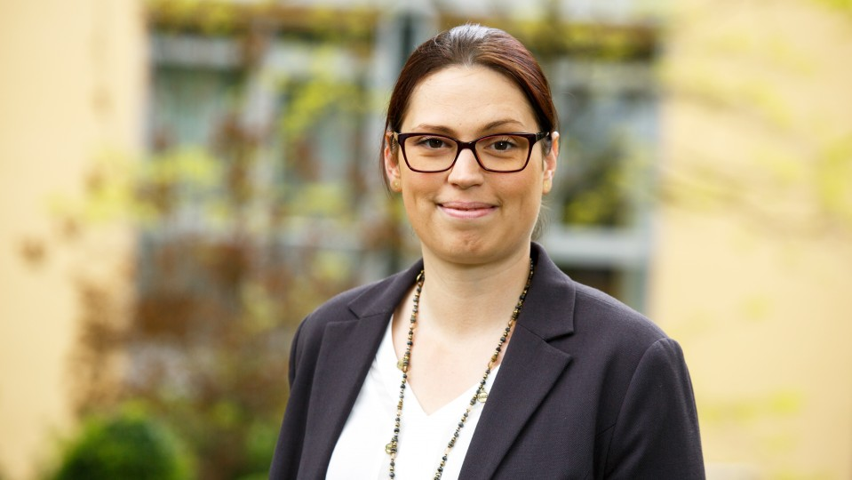 Foto: Kerstin Sliepen, Leiterin des Haus Aurelius