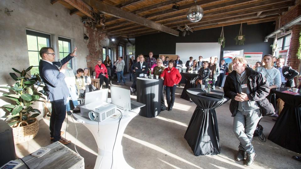 Teilnehmer und Teilnehmerinnen der Veranstaltung