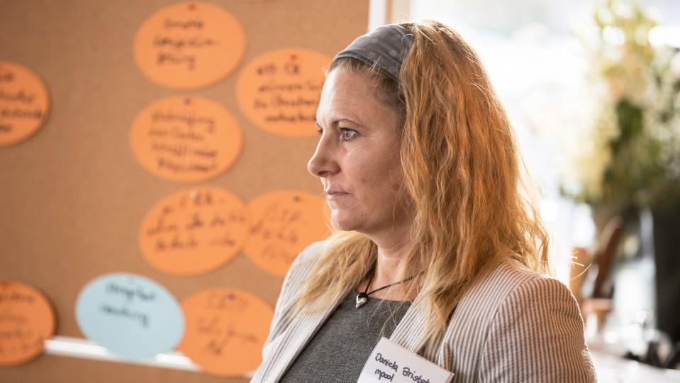 Beraterin bei mpool, unterstützt den Austausch an den Thementischen