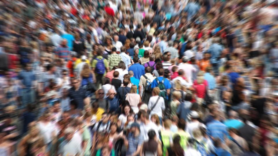 Bild zeigt eine Menschenmenge