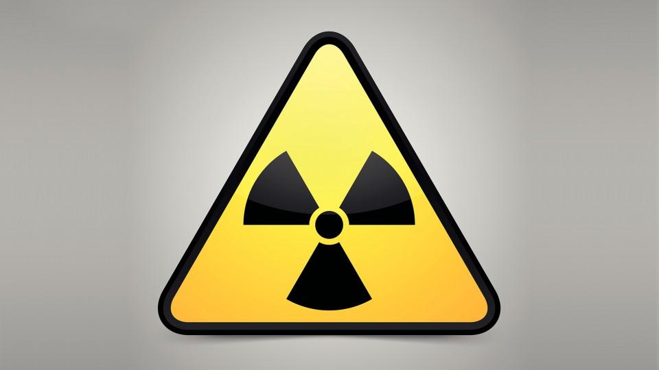 Gefahrensymbol Strahlenschutz